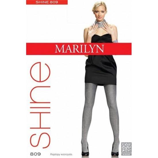 Raštuotos pėdkelnės Marilyn Shine 809