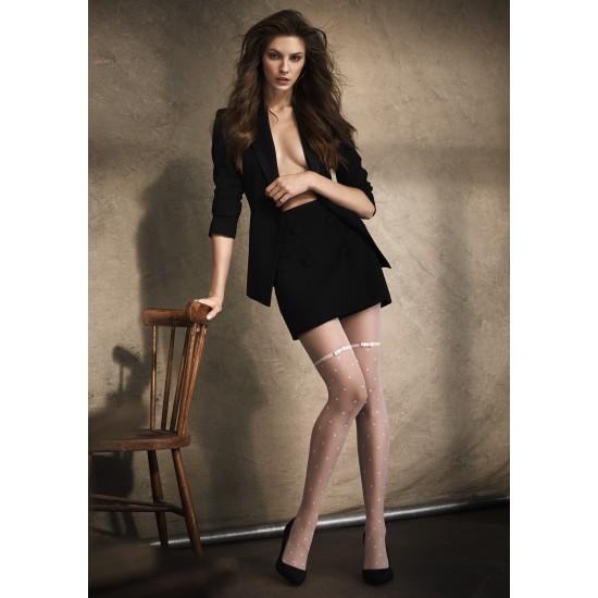Pėdkelnės su kojinių imitacija Marilyn Flores M09